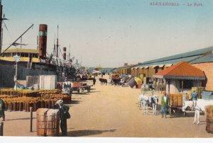 ALEXANDRIE , EGYPT , 00-10s ; Le Port