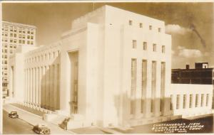 Tennessee Chattanooga New Post Office Real Photo