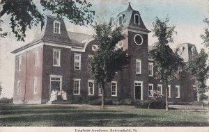 BAKERSFIELD, Vermont, PU-1912; Brigham Academy