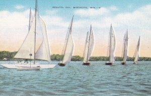 MARINETTE, Wisconsin, 1930-1940's; Regatta Day