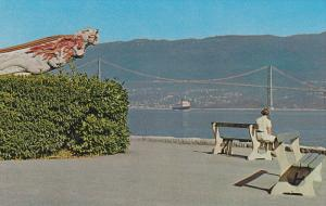 Empress of Japan - Figurehead at Stanley Park , VANCOUVER , B.C. , Canada , 5...