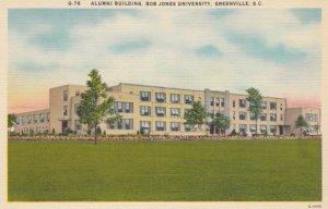 GREENVILLE, South Carolina, 1930-40s; Alumni Building, Bob Jones University
