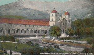 SANTA BARBARA , California , 1900-10s; Mission and Grounds