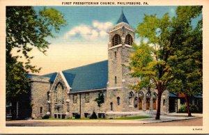 Pennsylvania Philipsburg First Presbyterian Church
