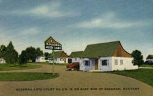 Bozeman Auto Court in Bozeman, Montana