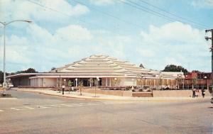 Hot Springs Arkansas~Hot Springs Convention Auditorium~1968 Postcard