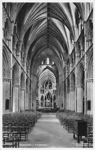 Norway, Domkirken i. Trondheim, Nidaros Cathedral, Interior