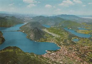 Switzerland, Suisse, LUGANO e dintorni, Veduta aerea, unused Postcard