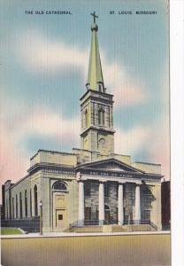 Missouri St Louis The Old Cathedral 1944