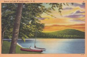 New Hampshire Sunset On Lake Winnipesaukee