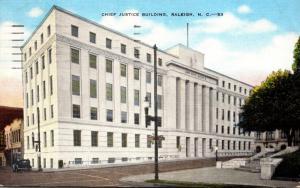 North Carolina Raleigh Chief Justice Building 1949