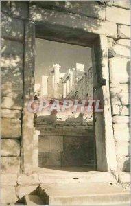 Postcard Modern Athens The Acropolis The Propylese
