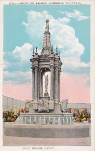 California Long Beach American Legion Memorial Fountain