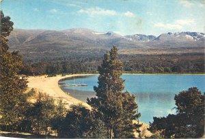 Postcard Uk Scotland Loch Morlich Cairngorms Inverness Shire