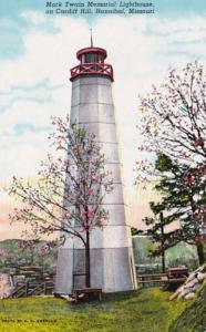 Missouri Hannibal Mark Twain Memorial Lighthouse On Cardiff Hill Curteich