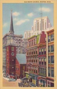 Old South Church Boston Massachusetts