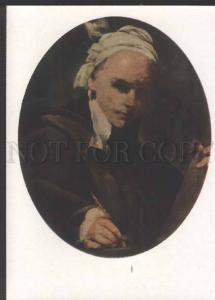 118433 Self-Portrait CRESPI Italian PAINTER Artist Old color