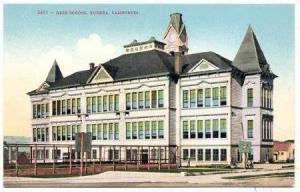 High School, Eureka, California,1900-1910s