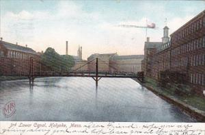 Massachusetts Holyoke 3rd Lower Canal 1912