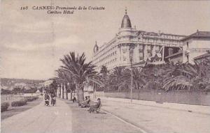 CANNES, Promenade de la Croisette Carlton Hotel, Alpes Maritimes, France, 00-10s