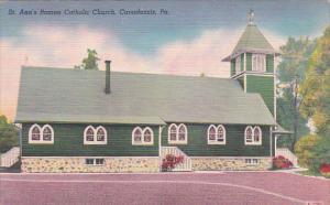 St. Ann's Roman Catholic Church, CANADENSIS, Pennsylvania, 30-40's
