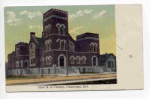 First M. E. Church, Hammond, Indiana, PU-1910