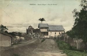 brazil, PENEDO, Monte Alegre, Rua da Aurora (1914) Stamp