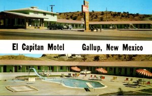 New Mexico Gallup El Capitan Motel