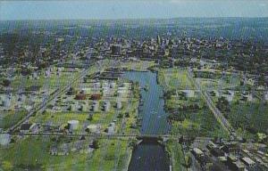 New York Syracuse Air View Of Syracuse