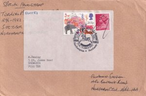 Lincolnshire Scout & Guide International Camp 1982 Postmark Cover