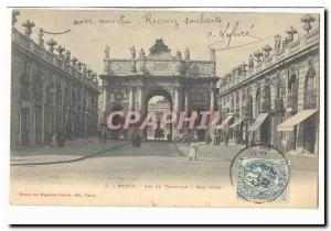 Nancy Postcard Arc de Triomphe Old Street Here