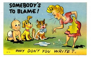 Humor - Somebody's to blame