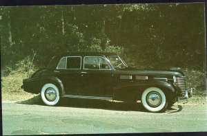 Classic Car Postcard 1940 CADILLAC Imperial Sedan Model 6019SF