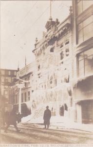 RP, Grafton´s Fire, Feb. 12th 1917; Hamilton, Ontario, Canada; Firefighters