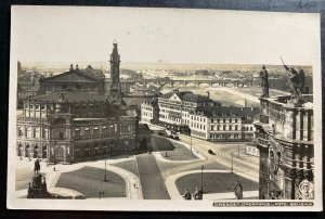 Mint Germany Real Picture Postcard RPPC Dresden Opera House