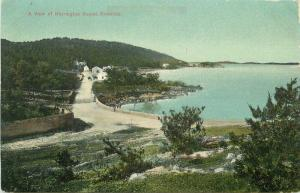 Bermuda C-1910 Harrington Sound View Postcard 5246
