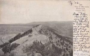 Top of Sky-Line Boulevard, Canon City,Colarado,PU-1906