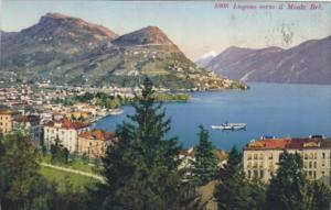 Switzerland Lugano verso il Monte Bre