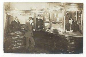RP: GALLOWAY , New Brunswick , Canada , 1909 ; Bank Interior