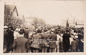 RP: Civic Memorial parade to King Edward , MOOSE JAW , Saskatchewan , Canada , 0