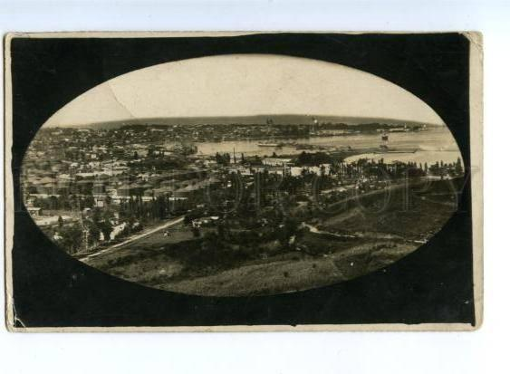 170137 Adjara Georgia BATUMI View Vintage REAL PHOTO Postcard