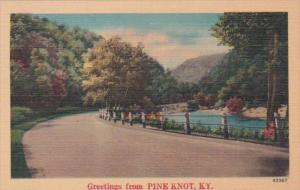 Kentucky Greetings From Pine Knot