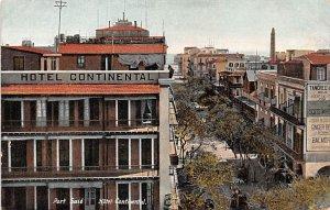 Hotel Continental Port Said Egypt, Egypte, Africa Unused