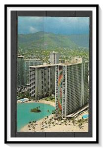 Hawaii - Rainbow Tower Hilton Hawaiian Village - [HI-011]