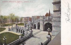 New York Albany State Capitol Building Eastern Entrance