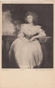BF18092 romney mrs mark currie national gallery mi painting art front/back image