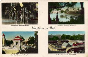 CPA Vietnam Indochine - Souvenir de Hué (85074)
