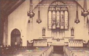 Pennsylvania Philadelphia The Chancel Mount Carmel Methodist Church Artvue