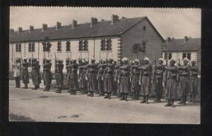061360 WWI FRENCH Moroccans soldier Vintage PC