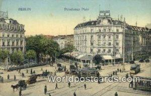 Potsdamer Platz Berlin Germany Unused